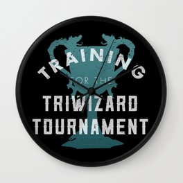 Training: Triwizard  Cup Wall Clock