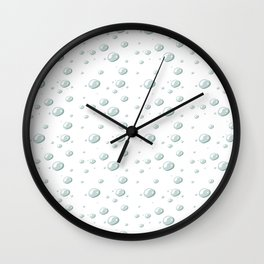 DEW DROPS Wall Clock
