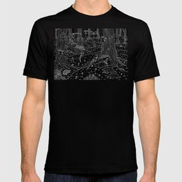 Nocturnal Animals of the Forest T-shirt