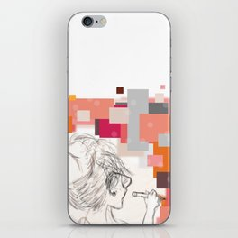 The Art Before the Storm iPhone Skin
