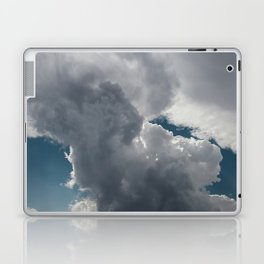 Clouds in the blue sky Laptop & iPad Skin