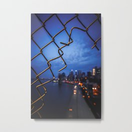 good morning manhattan Metal Print