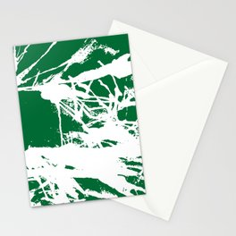 Green Base Stationery Cards