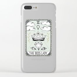 The Boss Lady Clear iPhone Case