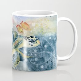 Colorful Seaturtle Art Coffee Mug