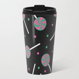 Lollipop Pattern Travel Mug