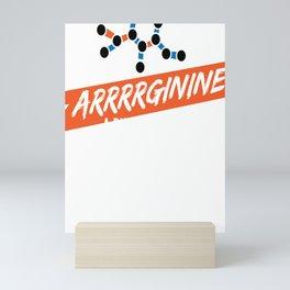 Biochemist Biochemistry Science Arginine Amino Acids Mini Art Print