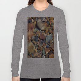 Pebbles in the Sea Long Sleeve T-shirt