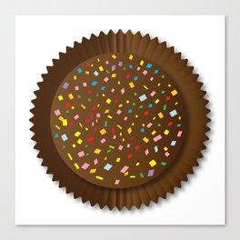 Chocolate Box Sprinkles Canvas Print