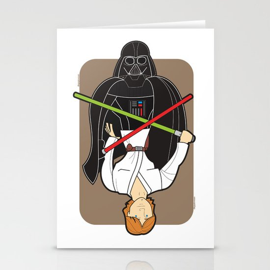 Darth Vader and Luke Stationery Cards