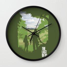 The Last Of Us Wall Clock