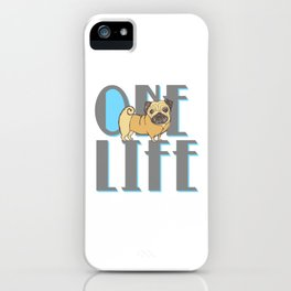 One Life iPhone Case
