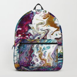 Color Oasis digitally enhanced from White Oasis Backpack