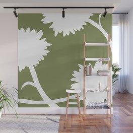 DANDELIONS  Wall Mural