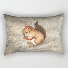 Sciurus (Baby Squirrel) Rectangular Pillow