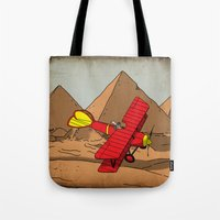 dreamer Tote Bags featuring Dreamer by Janko Illustration