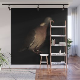 Woodpigeon Portrait Wall Mural