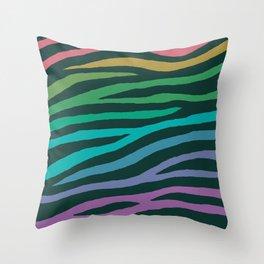 wildlife dreamcoat - zebra 2 Throw Pillow