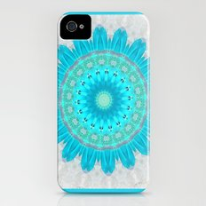 Ocean Turquoise Kaleidoscope iPhone (4, 4s) Slim Case