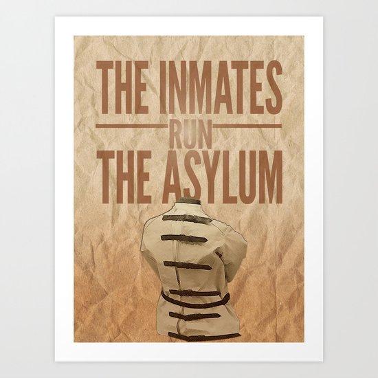 Asylum. Art Print
