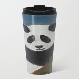 Panda Fun Metal Travel Mug