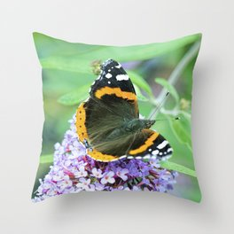 Butterfly VII Throw Pillow