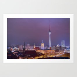 Berlin you are beautiful Art Print