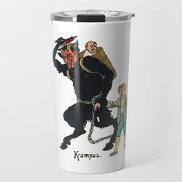Unmerry Krampus Travel Mug
