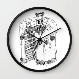 Devil's Food Cake Wall Clock