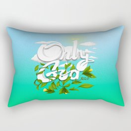 Only God Rectangular Pillow