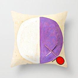 "Hilma af Klint ""No. 3d The Teachings of Buddha"" Throw Pillow"