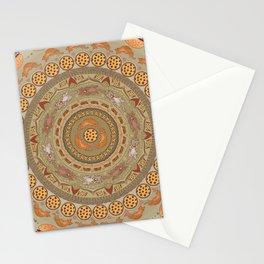 Cat Mandala Stationery Cards