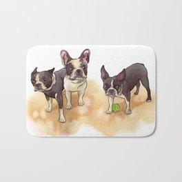 Bubba, Spanky & Figgy Bath Mat