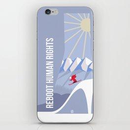 Winter games iPhone Skin