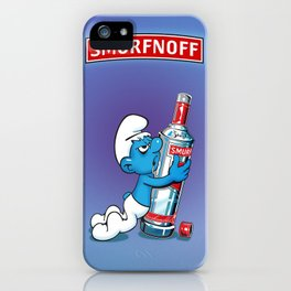 Smurfnoff iPhone Case