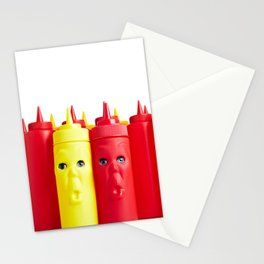 Ketchup and Mustard Stationery Cards