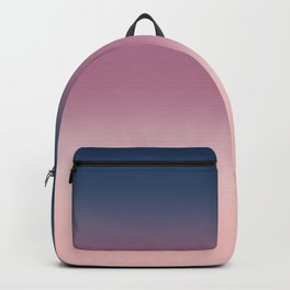 Blue , purple , pink , Ombre Backpack