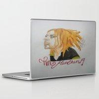 tim shumate Laptop & iPad Skins featuring Tim Minchin. by TheArtOfFaithAsylum