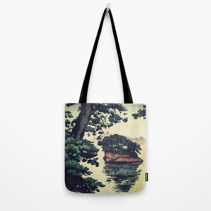 Autumn Rain in Yama Tote Bag