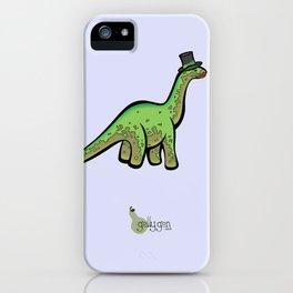 Fancy Dinosaur iPhone Case