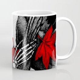 Death in Fall Coffee Mug