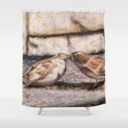 Nurturing In Nature Shower Curtain