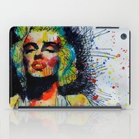 monroe iPad Cases featuring Monroe by benjamin james