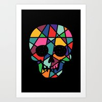 faith Art Prints featuring Faith by Andy Westface