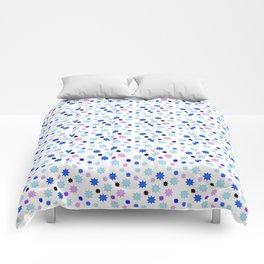 stars 16 blue Comforters