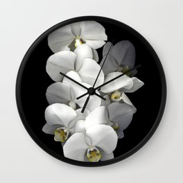 Jessica's Orchids Wall Clock