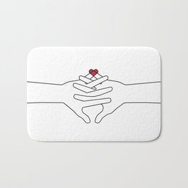 The Power of Love Bath Mat