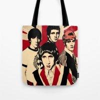 the who Tote Bags featuring wHO? by f_e_l_i_x_x