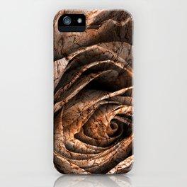 Barking Rose iPhone Case