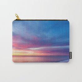 Pink Cotton Candy Sunset Carry-All Pouch